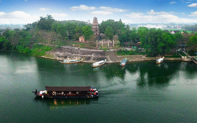 Sông Hương - Điểm du lịch Huế